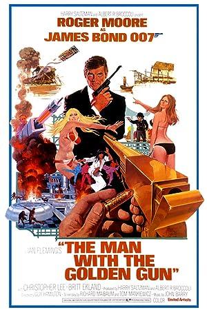 The Man With The Golden Gun (james Bond 007) (1974)