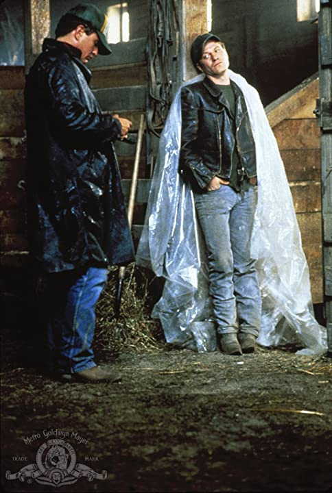 Tom Berenger and Ted Levine in Betrayed (1988)