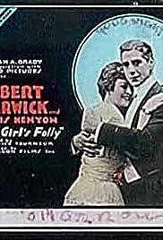 A Girl's Folly Poster