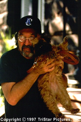 Director James L. Brooks with Verdell