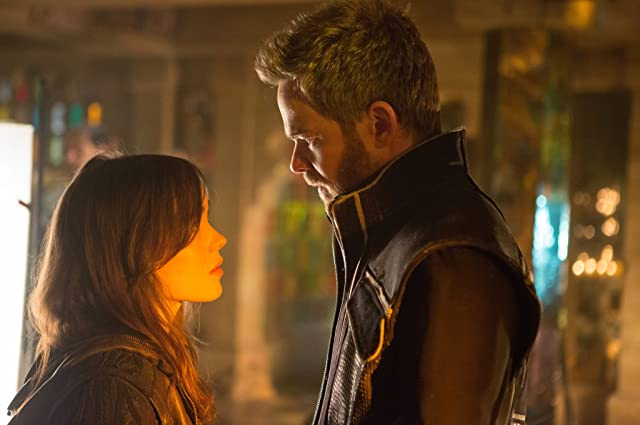Shawn Ashmore and Ellen Page in X-Men: Days of Future Past (2014)