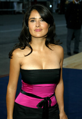 Salma Hayek at an event for Anything Else (2003)
