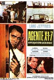 Agente X 1-7 operazione Oceano Poster