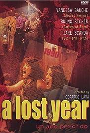 Un año perdido Poster