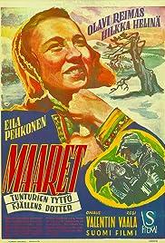 Maaret - tunturien tyttö Poster