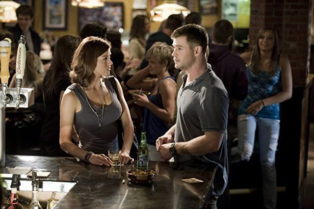 Chris Hemsworth and Adrianne Palicki in Red Dawn (2012)