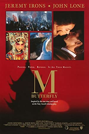 M. Butterfly Pelicula Poster