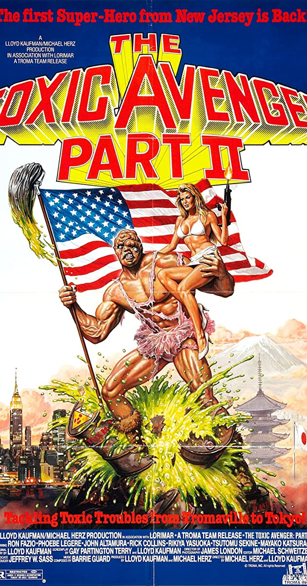 The Toxic Avenger Part Ii  1989