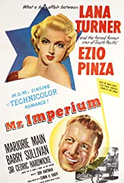 Mr. Imperium(1951) Poster - Movie Forum, Cast, Reviews