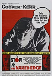 The Naked Edge(1961) Poster - Movie Forum, Cast, Reviews