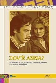 Dov'è Anna? Poster