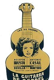 La guitarra de Gardel Poster