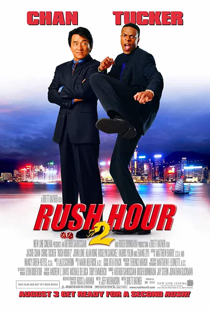 Rush Hour 2 (2001) 720p BRRip Dual Audio Watch Online Free Download at movies365.in