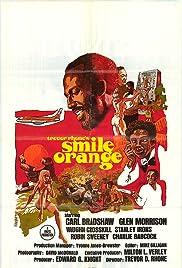 Smile Orange Poster