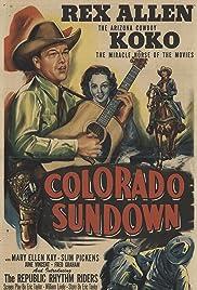 Colorado Sundown Poster