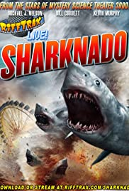 RiffTrax Live: Sharknado (2014) Poster - Movie Forum, Cast, Reviews