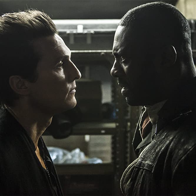 Matthew McConaughey and Idris Elba in The Dark Tower (2017)