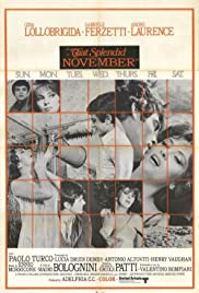 Un bellissimo novembre Poster