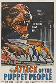 Attack of the Puppet People Poster