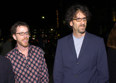 Ethan Coen and Joel Coen at The Ladykillers (2004)