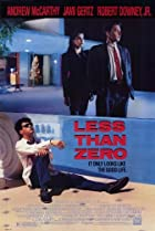 Image of Less Than Zero