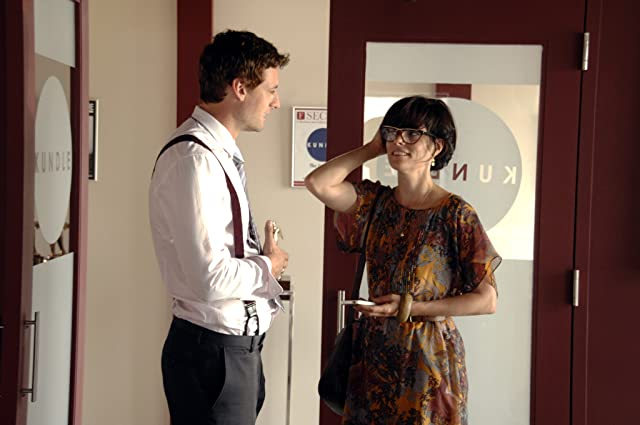 Parker Posey and Callum Blue in And Now a Word from Our Sponsor (2013)