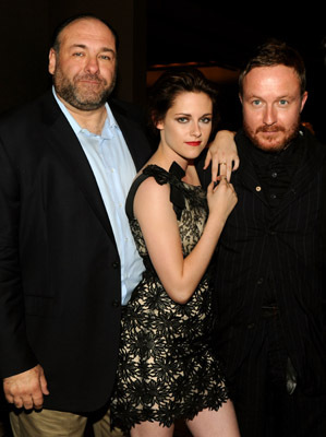 James Gandolfini, Jake Scott, and Kristen Stewart at an event for Welcome to the Rileys (2010)