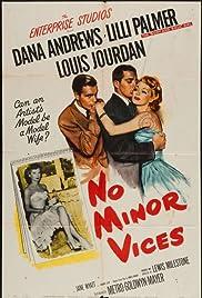 No Minor Vices Poster