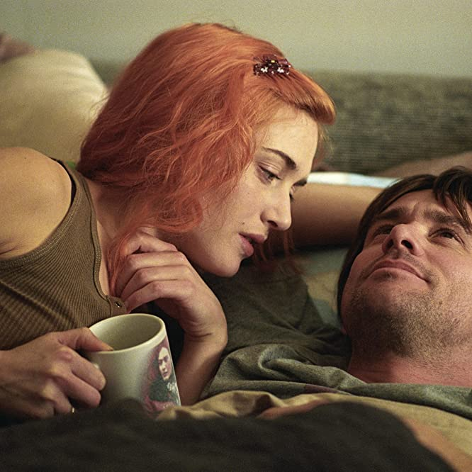 Jim Carrey and Kate Winslet in Eternal Sunshine of the Spotless Mind (2004)