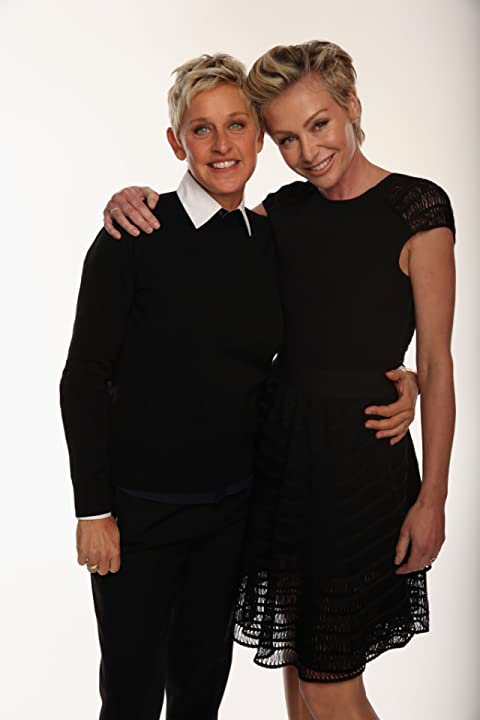Ellen DeGeneres and Portia de Rossi at an event for The 39th Annual People's Choice Awards (2013)
