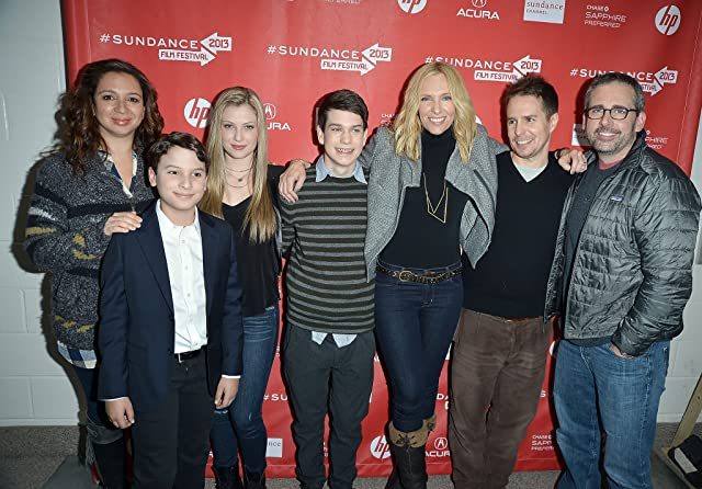 Toni Collette, Sam Rockwell, Steve Carell, Maya Rudolph, River Alexander, and Zoe Levin at an event for The Way Way Back (2013)