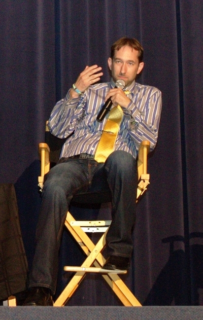 Discussing the making of Hughes the Force during the Producer's Q&A following the Premiere