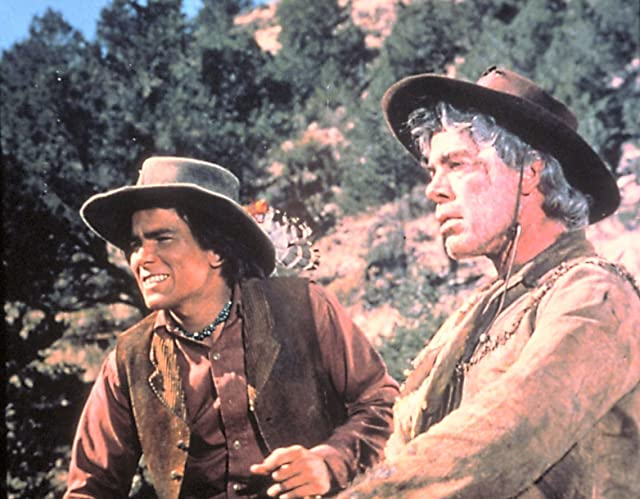 Lee Marvin and Tom Nardini in Cat Ballou (1965)