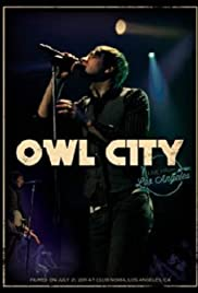 Owl City: Live from Los Angeles Poster