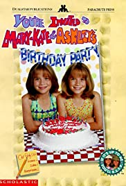 You're Invited to Mary-Kate & Ashley's Birthday Party Poster