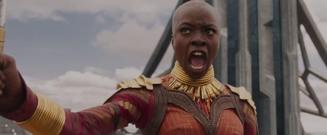 army general danai, review of the black panther movie