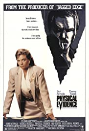 Physical Evidence (1989) Poster - Movie Forum, Cast, Reviews
