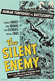 The Silent Enemy (1958) Poster - Movie Forum, Cast, Reviews