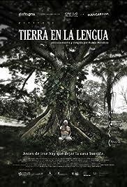 Tierra en la Lengua Poster