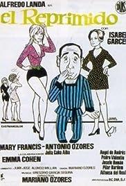 El reprimido Poster