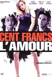 Cent francs l'amour Poster