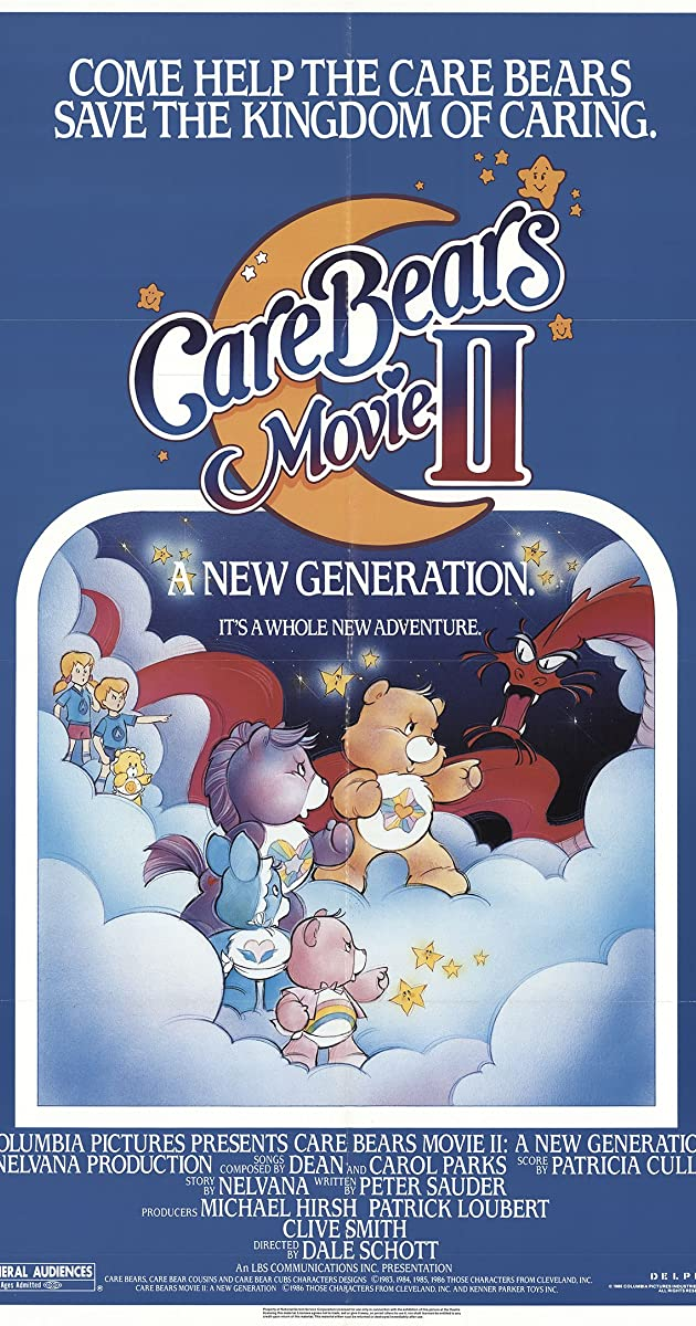 Care Bears Movie II A New Generation 1986