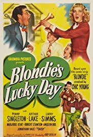 Blondie's Lucky Day Poster