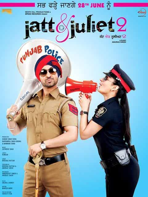 Jatt And Juliet 2 2013 Punjabi 720p BRRip 1GB