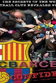 FC Barcelona Confidential Poster