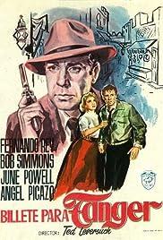 Billete para Tánger Poster