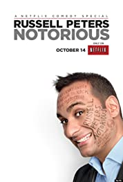 Russell Peters: Notorious poster