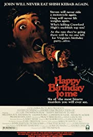 Happy Birthday to Me (1981) Poster - Movie Forum, Cast, Reviews