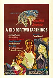 A Kid for Two Farthings (1955) Poster - Movie Forum, Cast, Reviews