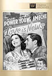 Love Is News (1937) Poster - Movie Forum, Cast, Reviews